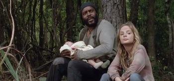 Chad L Coleman Brighton Sharbino The Walking Dead The Grove
