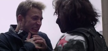 Chris Evans Sebastian Stan Captain America The Winter Soldier