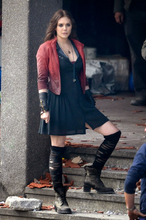 Elizabeth Olsen The Avengers Age of Ultron