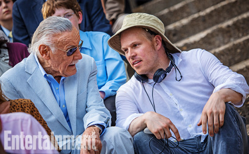 Stan Lee Marc Webb The Amazing Spider-Man 2