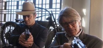 Timothy Olyphant Eric Roberts Justified Wrong Roads