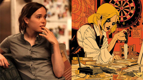 Ellen Page Tara Chace Queen & Country