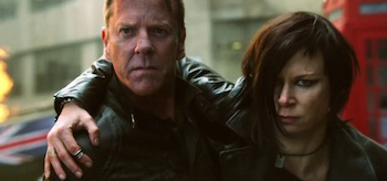 Kiefer Sutherland Mary Lynn Rajskub 24 Live Another Day