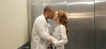 Sarah Drew, Jesse Williams Grey's Anatomy You Be Illin