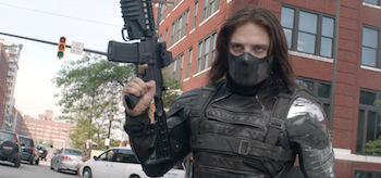 Sebastian Stan Captain America The Winter Soldier