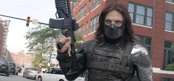 Sebastian Stan Captain America The Winter Soldier