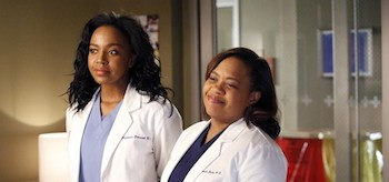 Chandra Wilson Jerrika Hinton Greys Anatomy Everything I Try to Do Nothing Seems to Turn Out Right