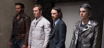 Evan Peters Hugh Jackman James McAvoy Michael Fassbender X-Men Days Of Future Past