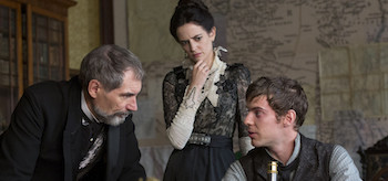 Timothy Dalton Eva Green Harry Treadaway Penny Dreadful Seance