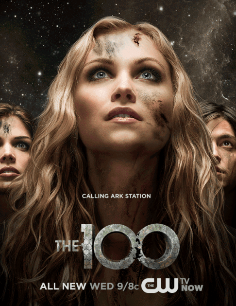 Marie Avgeropoulos Eliza Taylor Thomas McDonell The 100: Calling Ark Station
