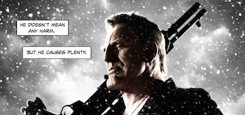 Mickey Rourke Sin City A Dame to Kill For Movie Poster