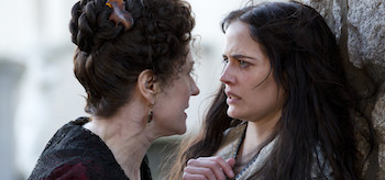 Anna Chancellor Eva Green Penny Dreadful Closer Than Sisters