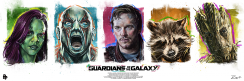 Guardians of the Galaxy Robert Bruno