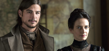 Josh Hartnett Eva Green Penny Dreadful Night Work