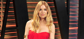 Sienna Miller Red Dress