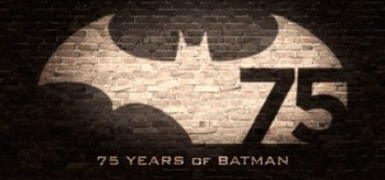 Batman 75th Anniversary logo