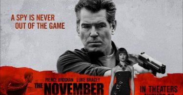 The November Man Movie Banner