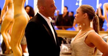 Vin Diesel Ronda Rousey Fast and Furious 7