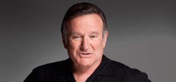 Robin Williams Face Shot