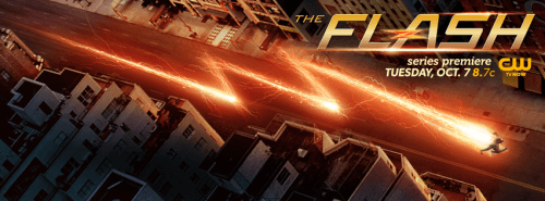 The Flash TV show banner