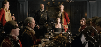 Caitriona Balfe Graham McTavish Outlander The Garrison Commander