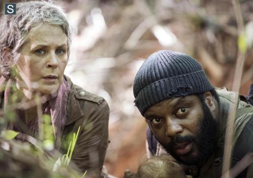 Melissa McBride Chad L Coleman The Walking Dead No Sanctuary