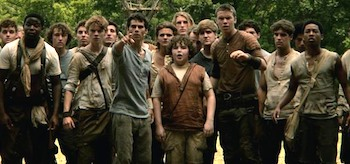 The Maze Runner Pointing