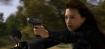 Ming-Na Wen Agents of SHIELD Heavy is the Head