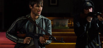 Andrew J West Chris Coy The Walking Dead Four Walls & a Roof