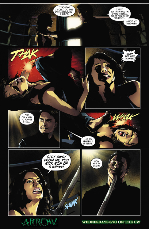 Arrow 303 digital comic preview