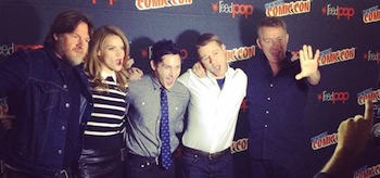 Donal Louge Erin Richards Robin Lord Taylor Ben McKenzie Sean Pertwee Gotham NYCC 2014
