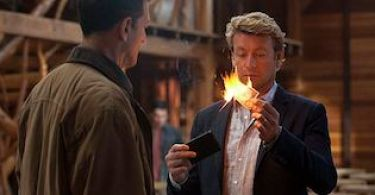 Simon Baker The Mentalist Forest Green
