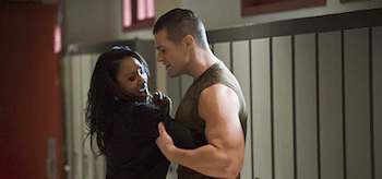 Candice Patton Greg Finley The Flash