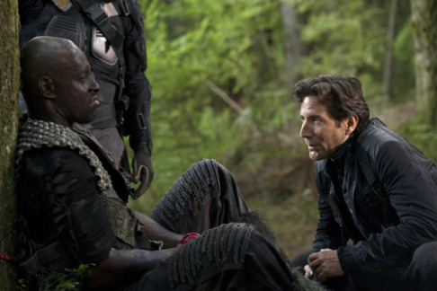 Henry Ian Cusick Colin Lawrence The 100 Human Trials