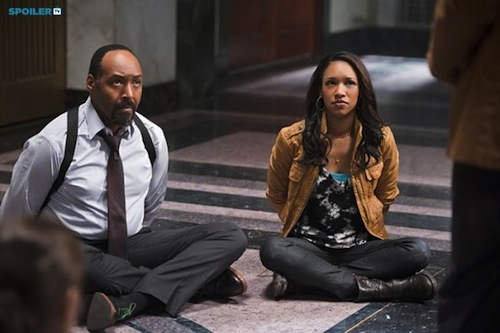 Jessie Martin Candice Patton The Flash