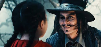 Johnny Depp Into The Woods