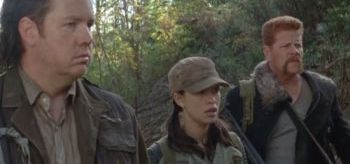 Josh McDermitt Christian Serratos Michael Cudlitz The Walking Dead Self Help