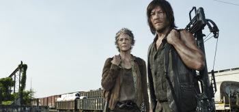 Melissa McBride Norman Reedus The Walking Dead Consumed