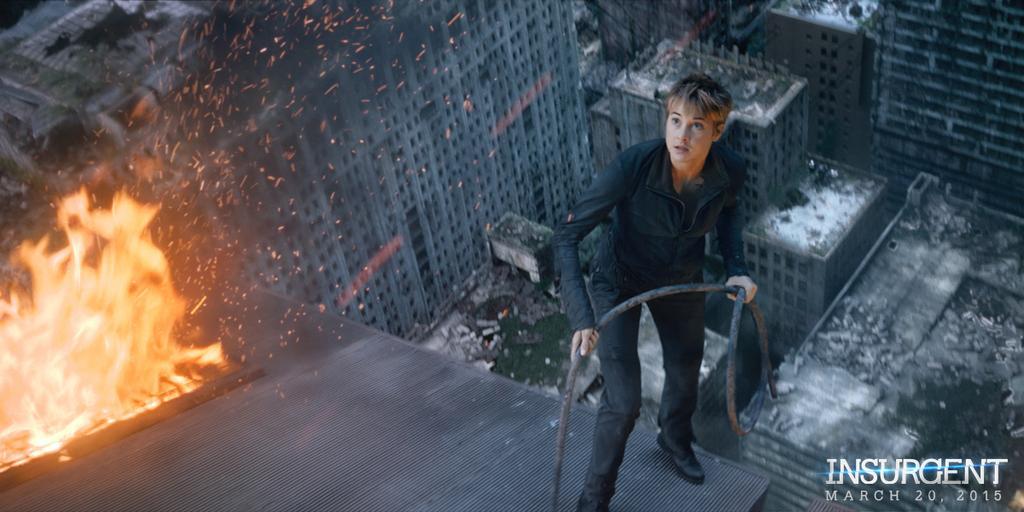 The Divergent Series Insurgent 2015 Teaser Trailer Poster Image Filmbook
