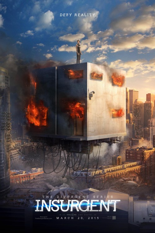 The Divergent Series Insurgent Cube movie poster