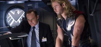 Avengers Coulson and Thor