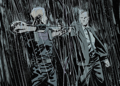 Coulson and Hawkeye