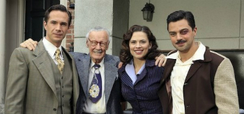 Dominic Cooper Hayley Atwell James Darcy Stan Lee