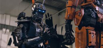 Handgaze Orange Robot Chappie