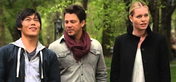 John Kim Christian Kane Rebecca Rominj The Librarians