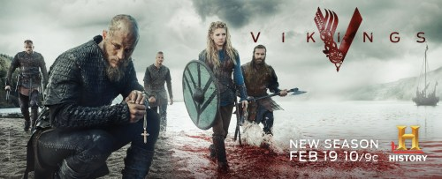 Vikings Season 3 TV show poster