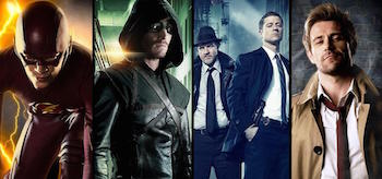 Arrow Flash Gotham Constantine