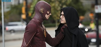 Grant Gustin Andy Mientuss The Flash