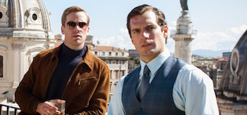 Henry Cavill Guy Ritchie The Man from UNCLE