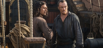 Luke Arnold Toby Stephens Black Sails XIII